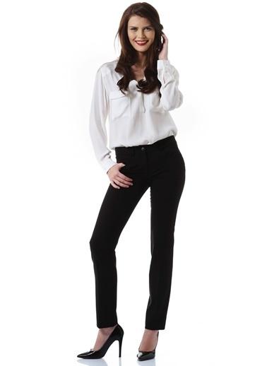 Ekol Ekol 3562015 Boru Paça Kadın Pantolon Siyah